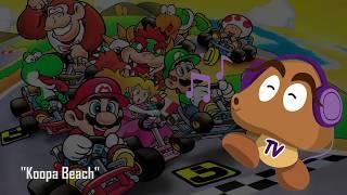 Super Mario Kart OST - Koopa Beach (HD Version)