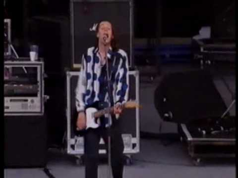 Jesus Jones - 'Real Real Real' live at Wembley Stadium