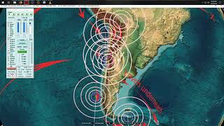 12/09/2018 -- Major seismic unrest taking place + Oregon West Coast VOLCANIC HOT SPOTS FORMING