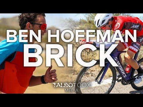 Ben Hoffman's Ironman South Africa Brick    Athlete Vlog 2