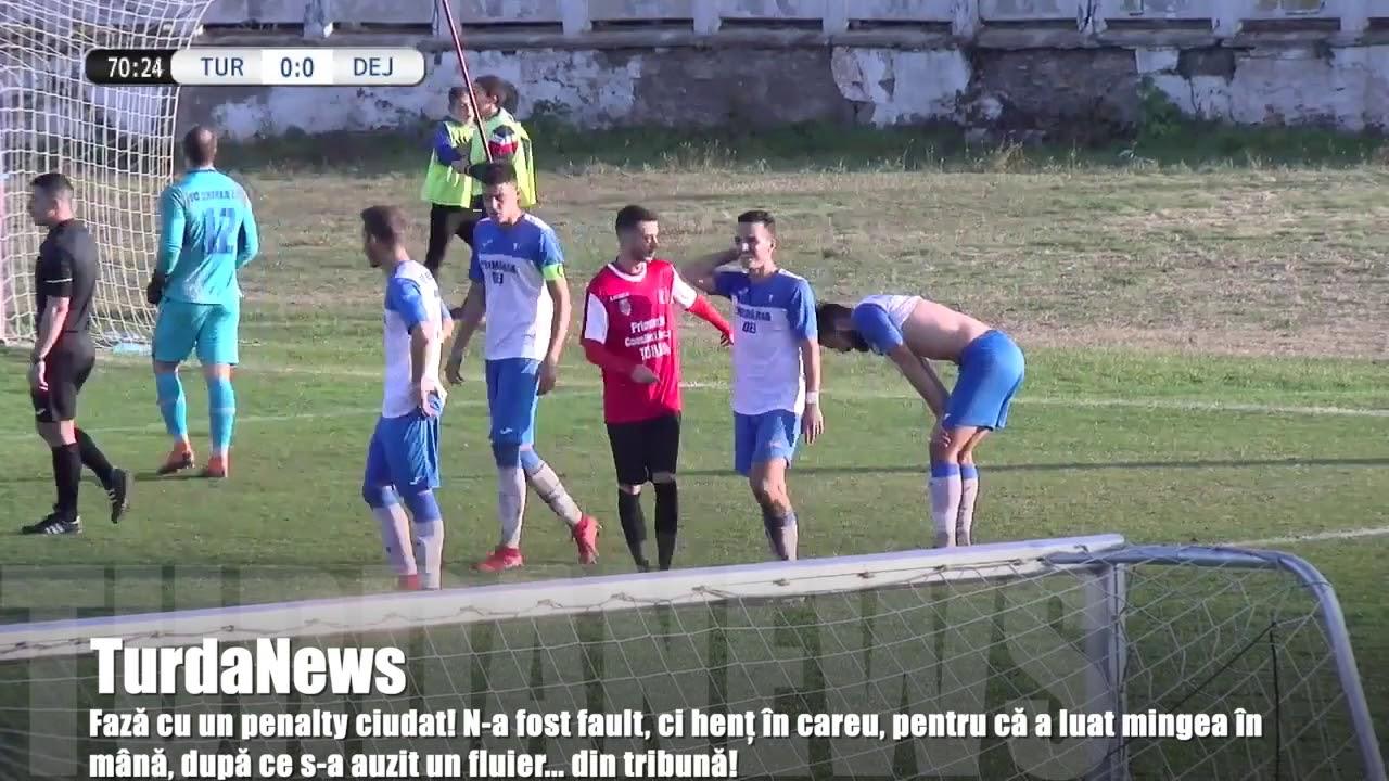 Penalty ciudat la un meci de fotbal din Liga 3 (15.11.2019)