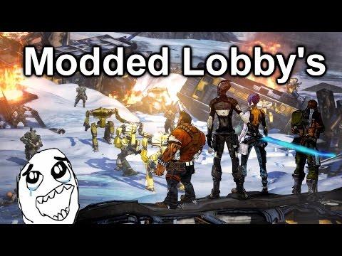 Borderlands 2 modded lobby's (PS4)