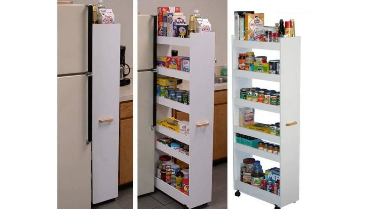 kitchen storage ideas that will enhance your space pull out pantry rh youtube com sliding pantry shelves lowes sliding pantry shelves lowes