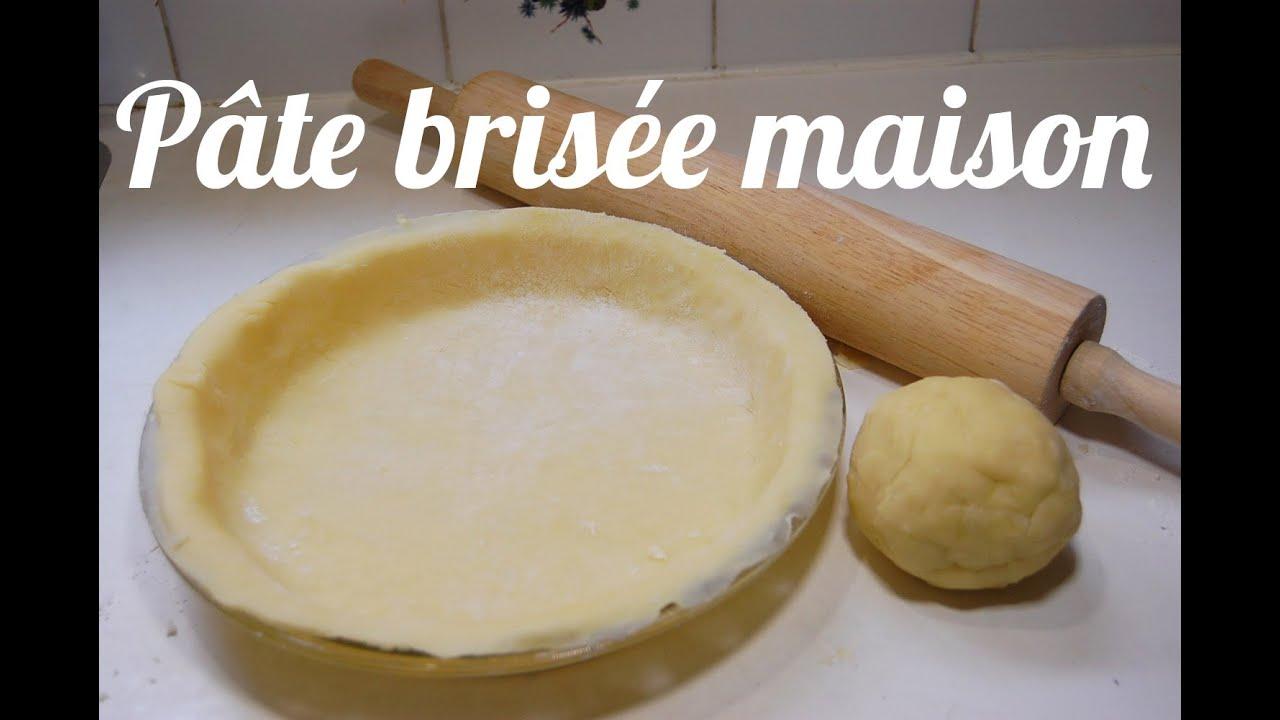 Ordinary Recette Pate Brisee Facile #6: Pâte Brisée Maison En 5 Minutes Chrono - YouTube