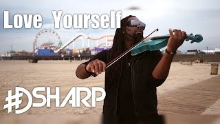 "dsharp - ""love yourself"" (violin v-mix) - justin bieber"