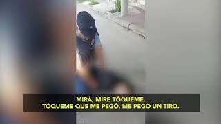 Polémico video del ladrón que murió tras ser baleado por un vecino