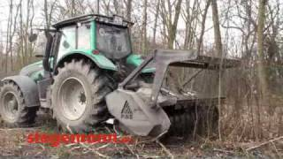 Forstschlepper Valtra T202 Direct bei de...