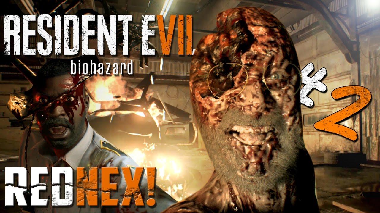 Resident Evil 7 Jack Garage Boss Battle Rednex Road Rage Pt 2