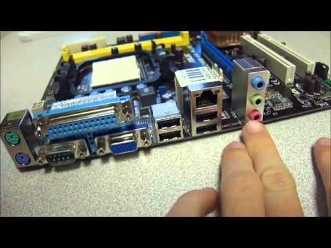 ASUS M2N68-AM Plus DDR2 mATX Motherboard