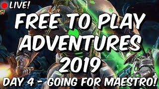 Free To Play Adventures 2019 - Day 4 Going For Act 4 Maestro! - Marvel Contest of Champion ...