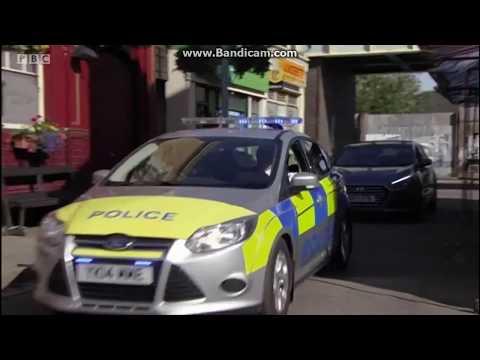EastEnders - Vincent Hubbard Gets Arrested (18th August 2017)