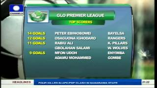 nigerian football latest npfl and nnl results