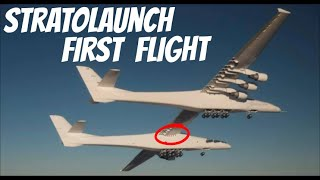 Gambar cover Stratolaunch & Scaled Composites Fly Roc, the World's Largest Airplane (Video of the First Flight)