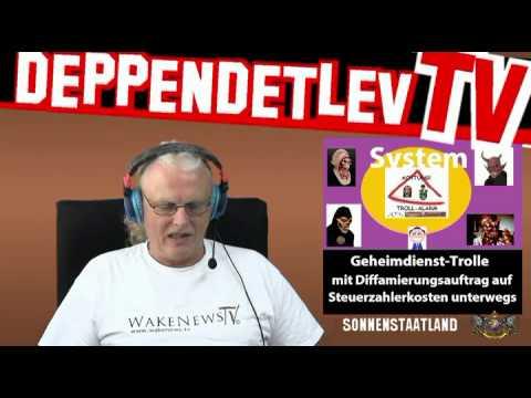Firma WakeNews TV (Unternehmer Detlev Hegeler) Videoantwort an Bürgerbewegung Sonnenstaatland