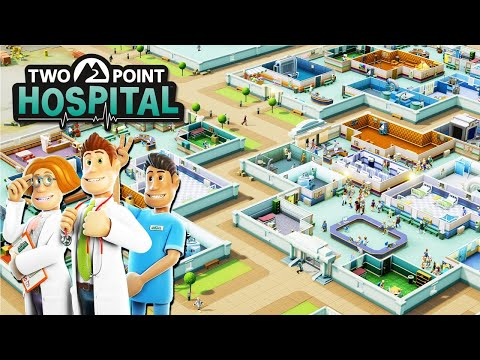 Building the BEST CUSTOM HOSPITALS Money Can Buy   Ep. 1   Two Point Hospital Gameplay