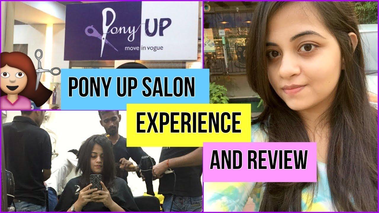 FREE HAIR CUTTING??  Pony Up Salon Experience  Vlog  Debaleena