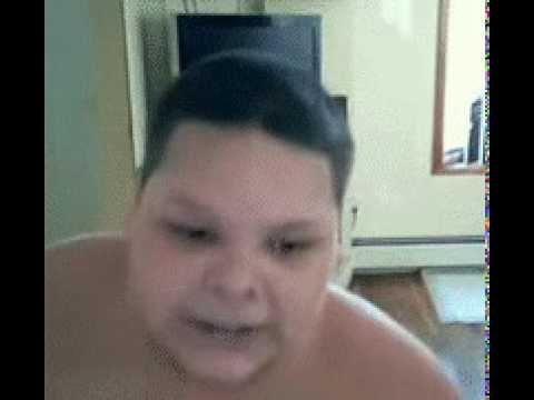 Fat boy masturbation