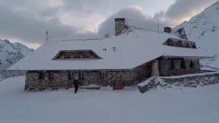 Dolina Piciu Staww i Dolina Roztoki - Tatry zima 2016