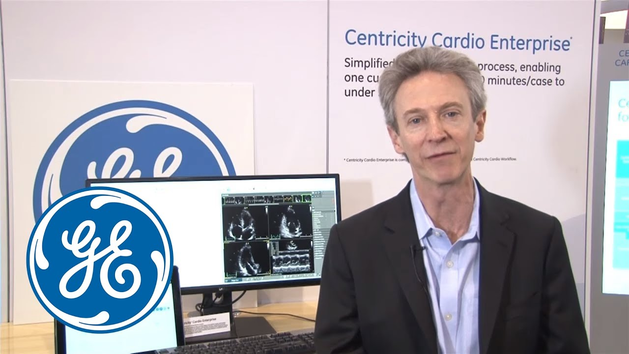 Don Woodlock, VP and GM of Cardiology IT, highlights CentricityTM Cardio  Enterprise - YouTube