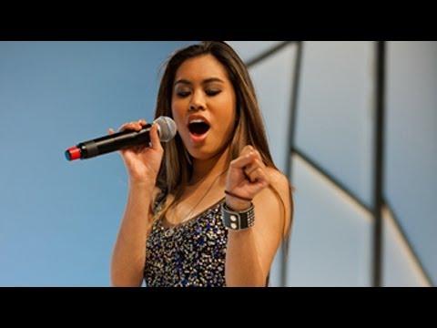 Ashley Argota's Premiere Event Performance