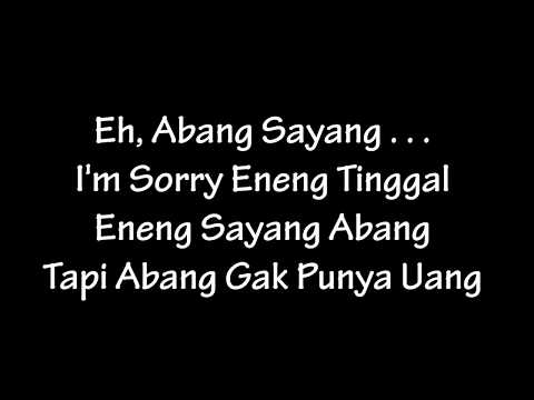 2BM Serangnesia - Eh Abang Sayang (Lyric)