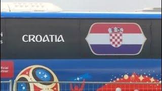 Футболисты сборной Хорватии прилетели в Санкт-Петербург - Россия 24