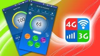 Wifi, 5G, 4G, 3G speed test screenshot 3
