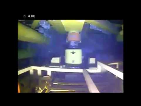 Seatooth Video footage monitoring Total subsea XT deployment