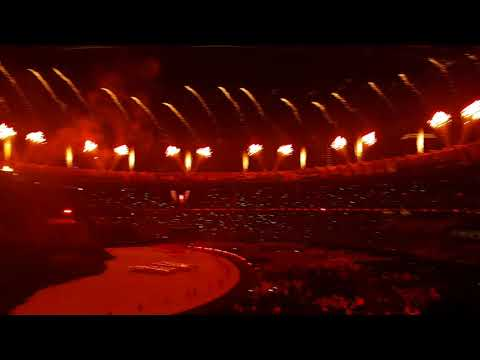 Asian Games 2018 Opening Ceremony - Volcano Torch (Obor Api) & Fireworks