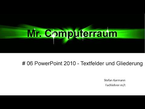 06 Powerpoint Text Gliederung