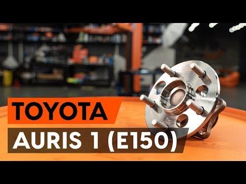 Как заменить подшипник ступицы заднего колеса на TOYOTA AURIS 1 (E150) [ВИДЕОУРОК AUTODOC]