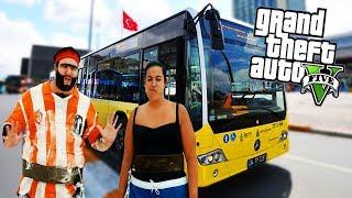 RECEP İVEDİK 500T İETT ŞOFÖRÜ OLDU! - GTA 5 OTOBÜS ŞOFÖRÜ MODU