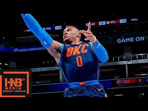 Oklahoma City Thunder vs Sacramento Kings Full Game Highlights   11.19.2018, NBA Season