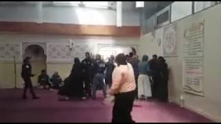 Les forces de l'ordre fait évacué la mosquée de clichy