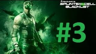 Splinter Cell Blacklist/Bölüm 3 Gizlilikte Fena Değilmişim/Türkçe Oynanış