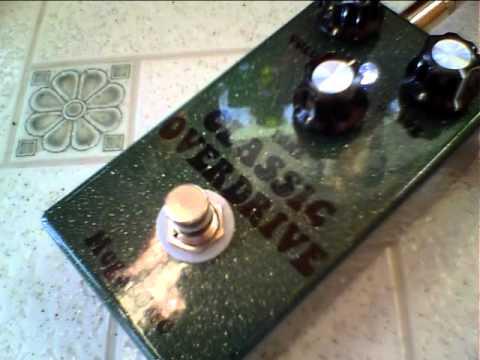 Rob Carlton band Megatone pedals