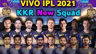 VIVO IPL 2021 Kolkata Knight Riders New Squad   IPL 2021 KKR Team Players List   KKR Squad IPL 2021
