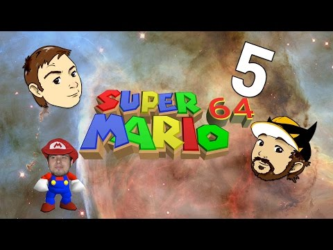 Super Mario 64 Part 5: pooping a house