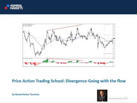 Price Action Trading  School: Divergence- Going with the flow