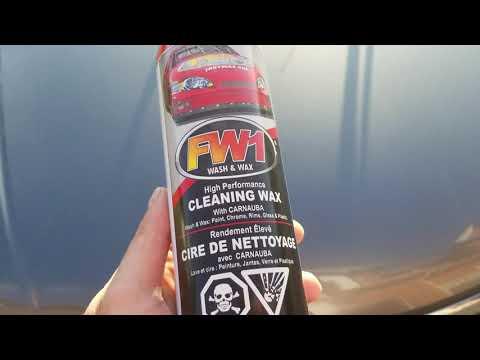 FW1 Canada Waterless Wash & Wax. (F11 Topcoat)