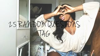 TAG! 25 Random Questions (GET TO KNOW ME) | AnnieDreaXO Thumbnail