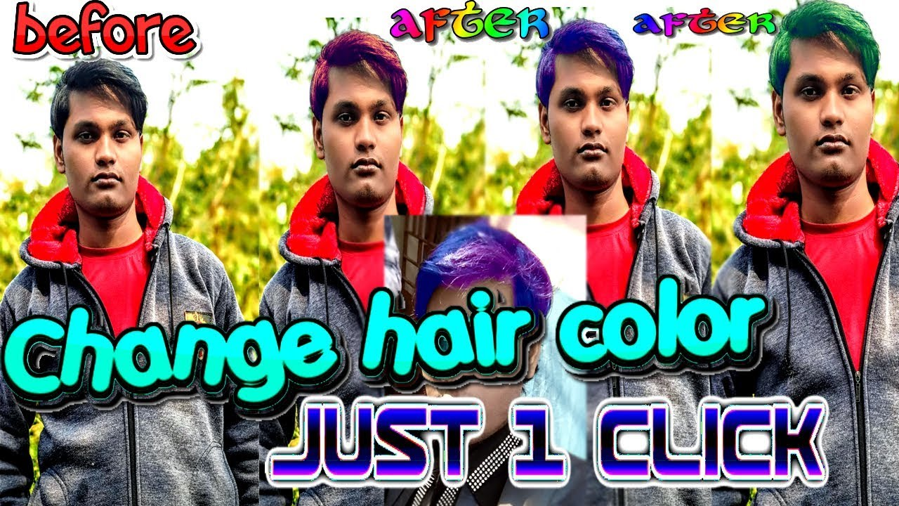 Best Hair Color Changer App For Android Mobile Hair Color Change Camera App 2019 Android Apps Youtube