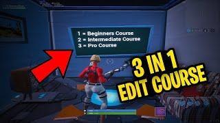 beginner edit course fortnite code