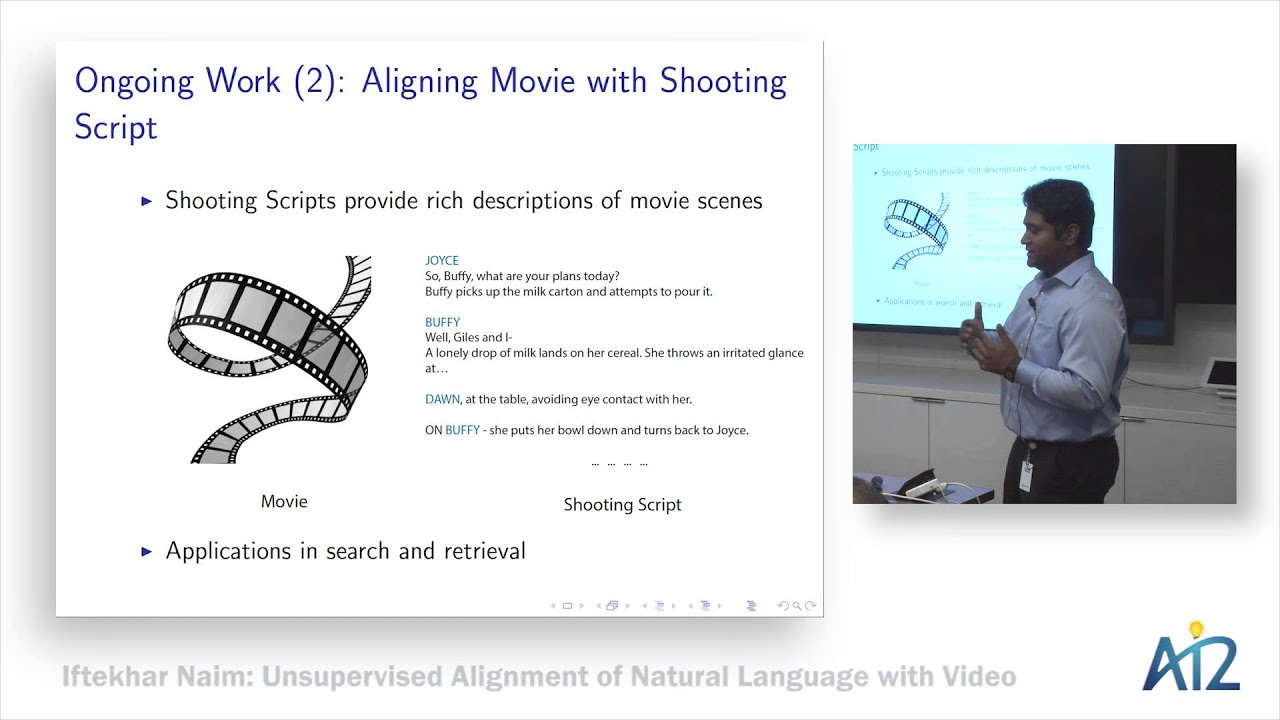 a2001b58239 Talks by Visiting Speakers Videos — Allen Institute for Artificial  Intelligence
