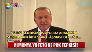 Almanya'da FETÖ ve PKK tepkisi!