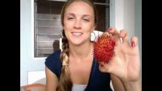 How to eat a Rambutan