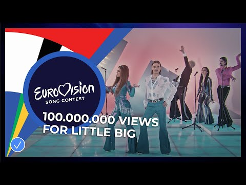 Little Big from Russia reaches 100.000.000 views!