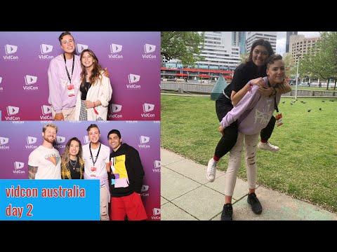 MEETING LOTS OF YOUTUBERS (vidcon Australia Day 2 2019)