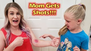 Beyond Baby Update - Mom Gets Shots! Family Game Night With Pop Rocket!!