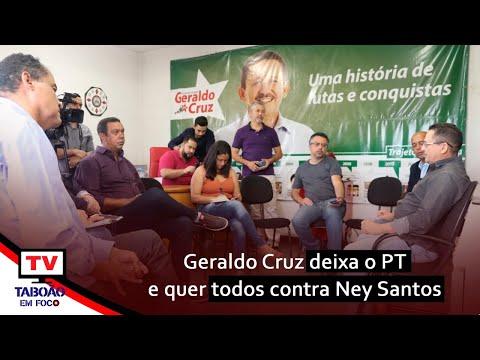 Coletiva: Geraldo Cruz se desfilia do PT de Embu das Artes após 40 anos
